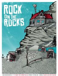 Rock on the Rocks Poster